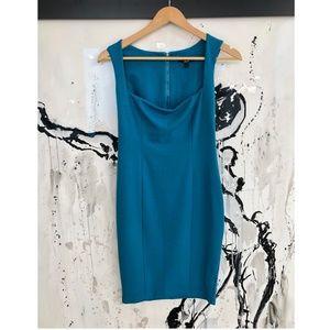 Kimberly Ovitz Square Neck Mini Dress Size SMALL